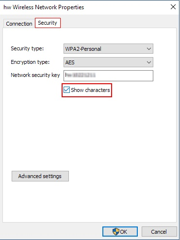 how to find wifi password on windows 10 2018